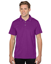 Tri-Mountain K435  's 92% Polyester 8% Spandex, S/S Polo Shirt at GotApparel
