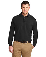 Port Authority K500LS Men Long Sleeve Silk Touch™ Polo at GotApparel