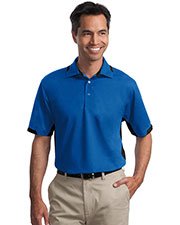 Port Authority TLK524 Men Tall Dry Zone Colorblock Ottoman Polo at GotApparel