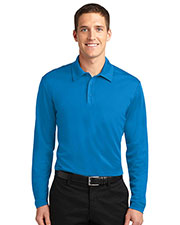 Port Authority K540LS Men Silk Touch™ Performance Long Sleeve Polo at GotApparel