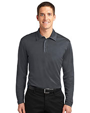 Port Authority K540LS Men Silk Touch Performance Long-Sleeve Polo at GotApparel