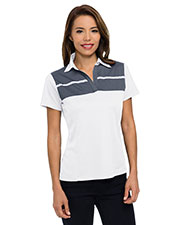 Tri-Mountain Kl025  Wo's 5 Oz. 100% Polyester Mini-Pique Polo Featuring Ultracool  Moisture-Wicking Technology. at GotApparel