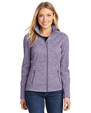 Port Authority L231 Women Digi Stripe Fleece Jacket at GotApparel