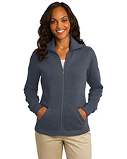 Port Authority L293 Women Slub Fleece Full-Zip Jacket at GotApparel