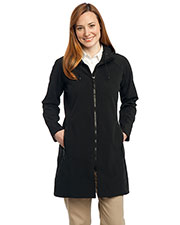 Port Authority L306 Women Long Textured Hooded Soft Shell Jacket at GotApparel