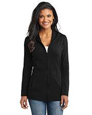 Port Authority L519 Women Modern Stretch Cotton Full-Zip Jacket at GotApparel