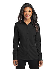Port Authority L570 Women Dimension Knit Dress Shirt at GotApparel