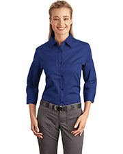 Port Authority L612 Women's 3/4-Sleeve Easy Care Shirt at GotApparel