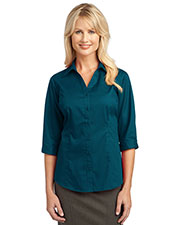 Port Authority L6290 Women IMPROVED 3/4-Sleeve Blouse at GotApparel