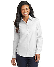Port Authority L658 Women Superpro Oxford Shirt at GotApparel