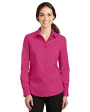 Port Authority L663 Women Superpro Twill Shirt at GotApparel