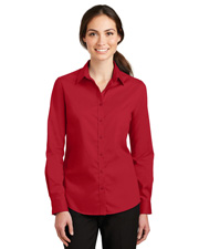 Port Authority L663 Women Superpro Twill Shirt at GotApparel