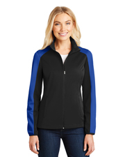 Port Authority L718 Women Active Colorblock Soft Shell Jacket at GotApparel