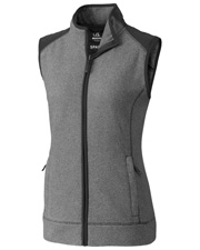 Cutter & Buck LCO09991 Women Cedar Park Full-Zip Vest at GotApparel