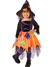 Halloween Costumes LF1063TS Infants Patchwork Witch 1-2t at GotApparel