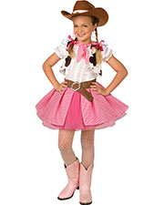 Halloween Costumes LF4008PKMD Girls Cowgirl Cutie Child Med 8-10 at GotApparel