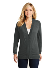 Port Authority LK5431 Women Bomber Cardigan at GotApparel