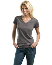 Port Authority LM1002 Women Concept V-Neck Tee at GotApparel