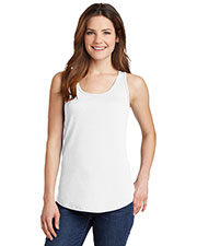 Port & Company LPC54TT Women's 5.4oz 100% Cotton Tank Top at GotApparel