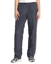Sport-Tek LPST61 Women Piped Wind Pant at GotApparel