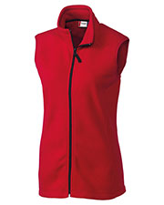 Clique New Wave LQO00017 Women Summit Lady Full Zip Microfleece Vest at GotApparel
