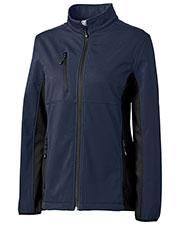 Clique New Wave LQO00042 Women Narvik Colorblock Softshell Jacket at GotApparel