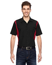 Dickies LS524 Men's Industrial Colorblock Shirt at GotApparel