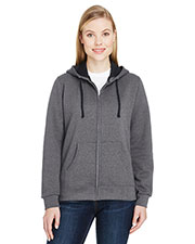 Fruit of the Loom LSF73R Women 7.2 oz. Sofspun® Full-Zip Hooded Sweatshirt at GotApparel
