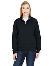 Fruit Of The Loom Lsf95r   ' 7.2 Oz. Sofspun® Quarter-Zip Sweatshirt at GotApparel