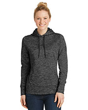 Sport-Tek LST225  ®  Ladies Posicharge ®  Electric Heather Fleece Hooded Pullover. at GotApparel