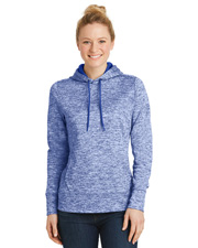 Sport-Tek® LST225 Women   PosiCharge® & Electric Heather Fleece Hooded Pullover at GotApparel