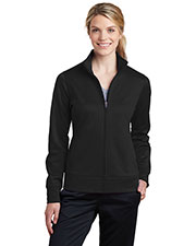 Sport-Tek LST241 Women Fleece Full-Zip Jacket at GotApparel