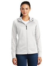 Sport-Tek® LST295 Girls   Youth PosiCharge®  Electric Heather Fleece Hooded Pullover at GotApparel