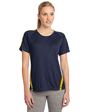 Sport-Tek® LST351 Women Colorblock PosiCharge® Competitor  Tee at GotApparel
