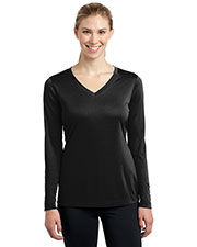Sport-Tek LST353LS Women Long Sleeve V-Neck PosiCharge™ Competitor™ Tee at GotApparel