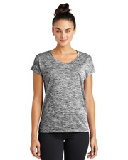 Sport-Tek LST390  ® Ladies Posicharge® Electric Heather Sporty Tee. . at GotApparel