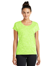 Sport-Tek® LST390 Women   PosiCharge®  Electric Heather Sporty Tee at GotApparel