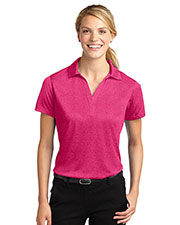 Sport-Tek LST660 Women Heather Contender™ Polo at GotApparel
