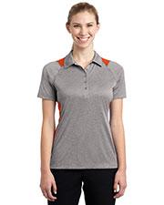 Sport-Tek® LST665 Women Heather Colorblock Contender   Polo at GotApparel