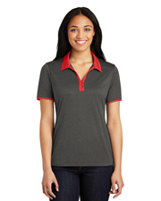 Sport-Tek® LST667 Women Heather Contender™ Contrast Polo   at GotApparel