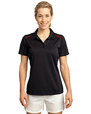 Sport-Tek LST670 Women Vector Sport-Wick Polo at GotApparel