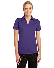 Sport-Tek LST690 Women PosiCharge Active Textured Polo at GotApparel