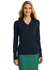 Port Authority LSW285 Women V-Neck Sweater at GotApparel