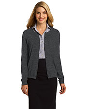 Port Authority® LSW287 Women's Cardigan Sweater at GotApparel