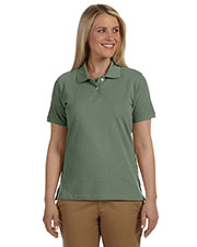 Harriton M100W Women Pique Polo at GotApparel