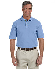 Harriton M200 Men 6 oz. Ringspun Cotton Pique short sleeve Polo at GotApparel