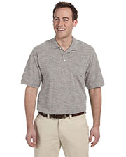 Harriton M265T Men Tall Easy Blend Polo at GotApparel