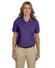 Harriton M265W Women's 5.6 oz. Easy Blend™ Polo at GotApparel