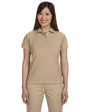 Harriton M280W Women 5 Oz. Blendtek Polo at GotApparel