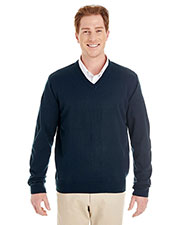 Harriton M420  Men's Pilbloc™ V-Neck Sweater at GotApparel